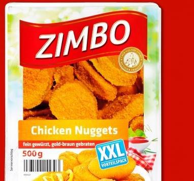 [PENNY] XXXL ZIMBO CHICKEN NUGGETS 500g - NUR 1,99€