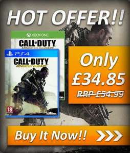 [PS4/XBONE] Call of Duty Advanced Warfare @ simplygames.co.uk (Idealo: 55€)