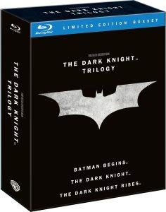 The Dark Knight Trilogy Blu-ray [Englischer Ton]