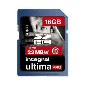 [SD-Karte] Integral 16GB Ultima Pro SD Karte (SDHC) - Class 10