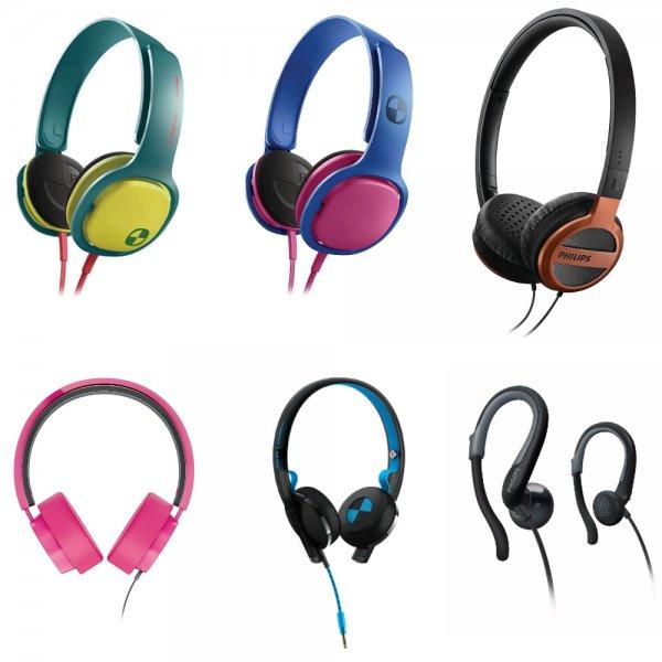 Philips Kopfhörer, Diverse Modelle heute als WOW@eBay 12,90 Euro