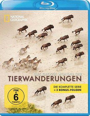 National Geographic - Das große Wunder der Tierwanderungen Box (2 Blu-rays) für 5,99€inkl. VSK @ Terrashop