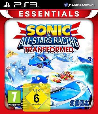 Sonic & SEGA All-Stars Racing Transformed PS3 XBOX 360 Neu & Deutsch für 14,90 inkl. Versand