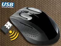 Lasermouse kabellos mit mini USB Dongle nur Versandkosten