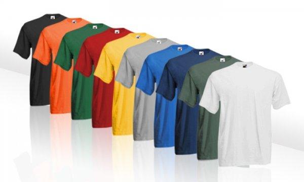 10er-Set Fruit of the Loom T-Shirts in verschiedenen Farben und Sets // 21,98 € inkl. Versand