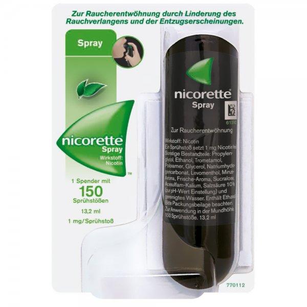 2x  Nicorette Spray   Rauchen aufhören mir hats geholfen bei Shop-apotheke.com