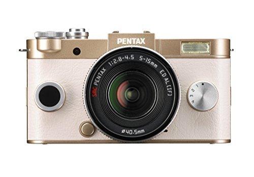 Pentax Q-S1 Systemkamera Kit inkl. 5-15 mm Objektiv gold inkl. Vsk für 382,42 € > [amazon.fr]