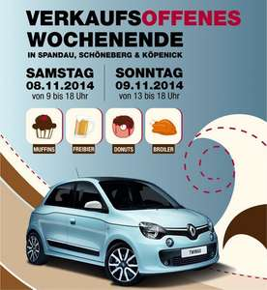 Berlin am  8.11. & 9.11.: Gratis Donuts, Muffins, Bier & Broiler