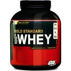 (16,35€/kg) 4,5kg 100% Whey Gold Std. + Geschenk (Shaker/Flasche/Schlüsselband) + Produktprobe
