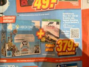 [Lokal] Xbox One in weiss+Sunset Overdrive+ Horizon 2  bei Expert in Dinslaken, Neuss, Simmerath, Dormagen und Kamp-Lintfort