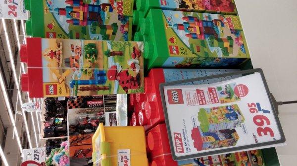 real -  Lego XXL Steinebox Creator und Duplo