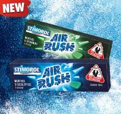 [SCHWEIZ] Stimorol Air Rush Kaugummi - Gratis