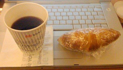 [lokal?!] Gratis Kaffee und diesmal sogar CROISSANTS 4free @ München Hbf