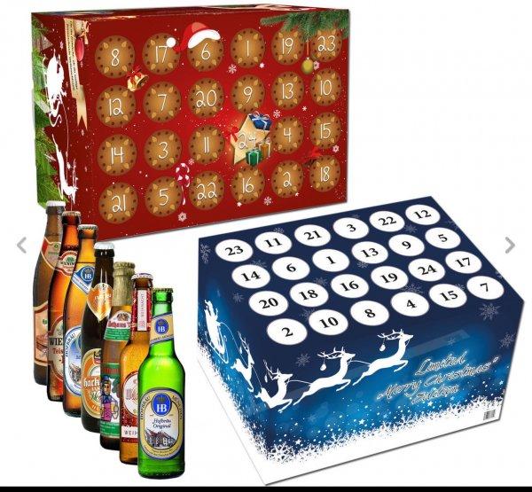 Adventskalender: 24 versch. Biere für Damen oder Herren je 29,95€