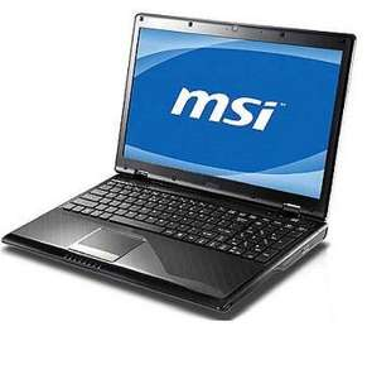 MSI A6300 15'' Notebook/AMD V160 2,4GHz/2048 MB DDR3 RAM/250GB SATA für 305€