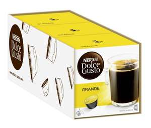 Nescafé Dolce Gusto Grande, 3er Pack (3,79€/Packung) @amazon.de