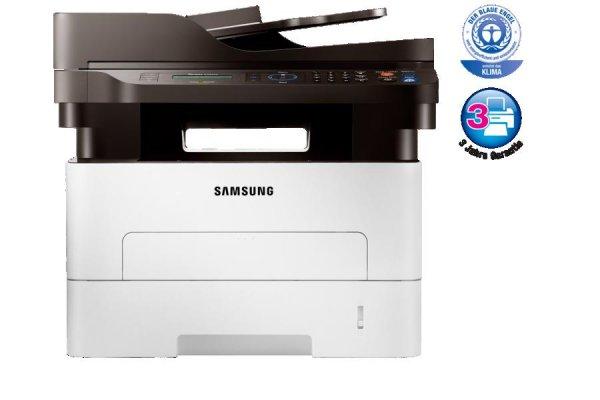 Samsung Xpress M2885FW Multifunktionslaserdrucker (Drucken, Scannen, Kopieren, Faxen) + Gratis Samsung Tablet 4 7.0 Wi-Fi