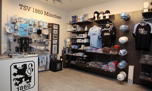 LOKAL München - Eine Woche lang 20% auf alles im Fanshop des TSV 1860 München in der Orlandostraße 8