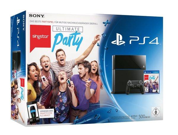 PS4 500GB + SingStar: Ultimate Party für 369€ @ebay
