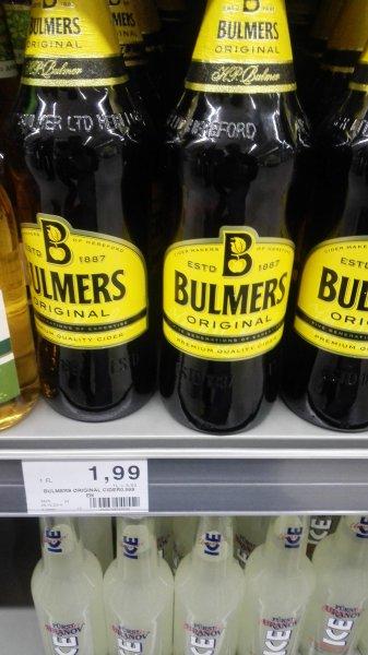 Bulmers Original Cyder im Edeka