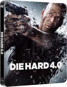 Die Hard 4.0 - Zavvi Exclusive Limited Edition Steelbook Blu-ray