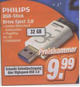 [Expert Döring ]  Philips Drive Eject USB 3.0 32GB  9,99€