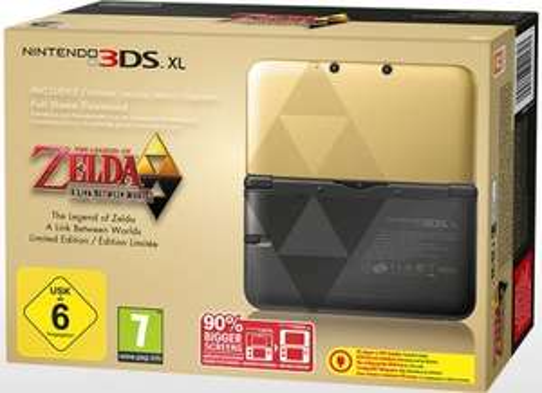 Nintendo 3DS XL Gold inkl. Zelda Limited Edition (DLC) EU 199 € [ebay]