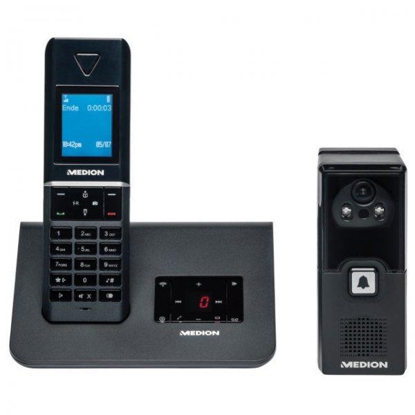 [ebay] MEDION P63025 DECT-Telefon mit Video-Türsprechanlage und Anrufbeantworter(B-Ware) für 34,99€ incl.Versand!