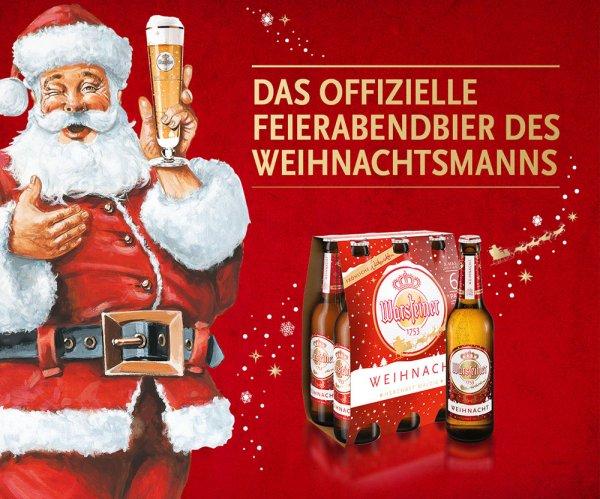 [HIT bundesweit via Scondoo] Warsteiner Weinacht Sixpack für effektiv 0,99€ exkl. Pfand