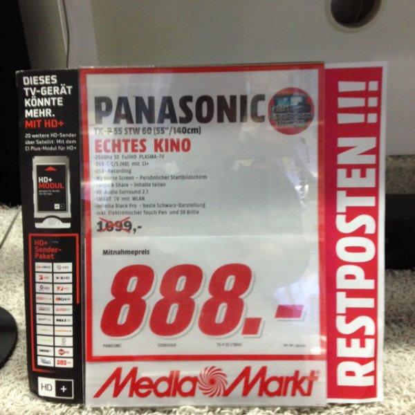 (Lokal Media Markt Mainz) Panasonic TX-P55STW60