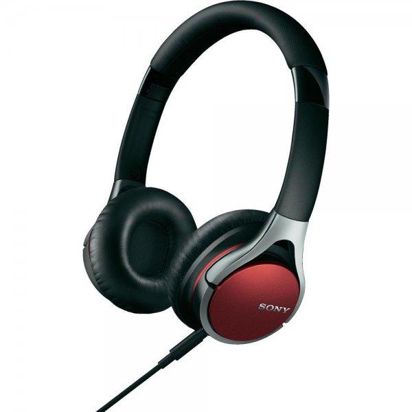 Sony MDR-10RCR, Kopfhörer / Headset, Rot inkl. Vsk für 68 € > [voelkner.de]