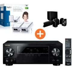Pioneer VSX-529 Receiver + Polk Audio TL 1600 5.1 + devolo Powerline-duo-Kit für 499€ @Cyberport