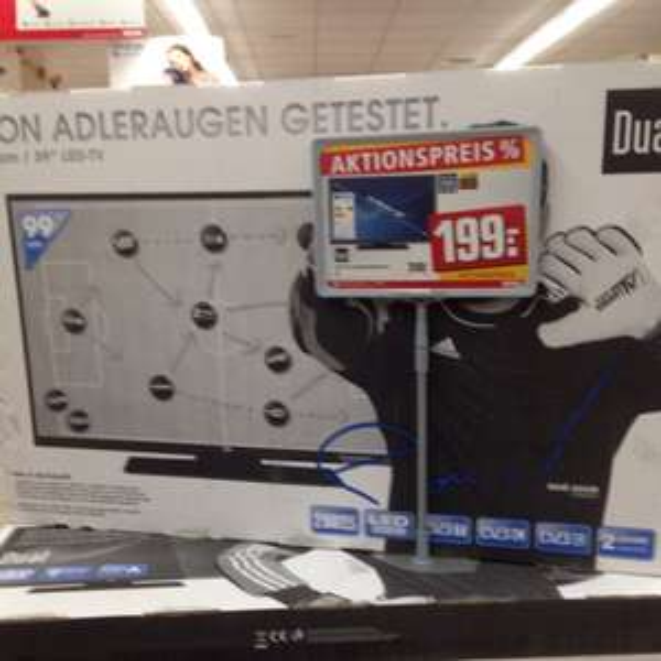 """Dual 39""""  LED TV DLE39F182P3Cv2 Lokal Rewe Rheine-Eschendorf"""