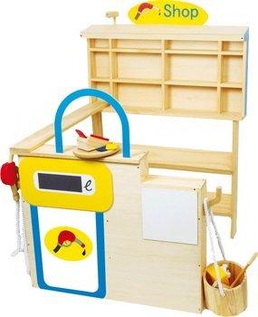 [Amazon] Holz Tankstelle/Kaufladen mit Zubehör für 56,41€ incl.Versand!