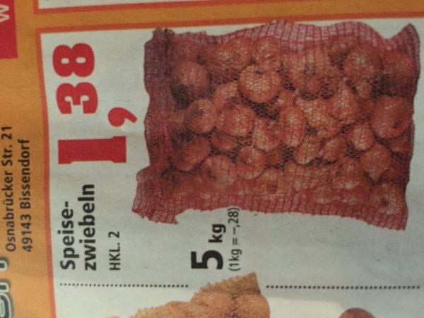 5 kg Speisezwiebeln HKL.2 bei Thomas Philipps (Bundesweit)