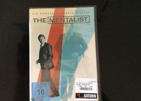 (Lokal) Mentalist Staffel 5 auf DVD bei Saturn in Norderstedt