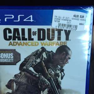 [Lokal] MM Neuss CoD AW Ps4 39€