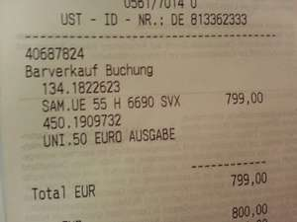 Samsung UE55H6690SVX Lokal  Saturn Kassel