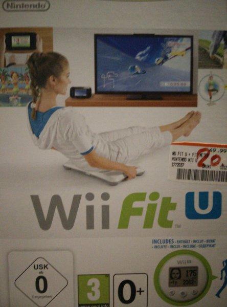 Wii fit U + Schrittzähler im Media Markt Esslingen an der B10