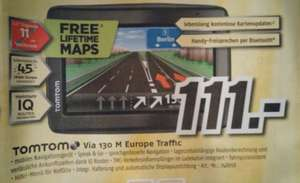 [Lokal? Medimax Hannover+Hildesheim]Tomtom Via 130 M Europe Traffic