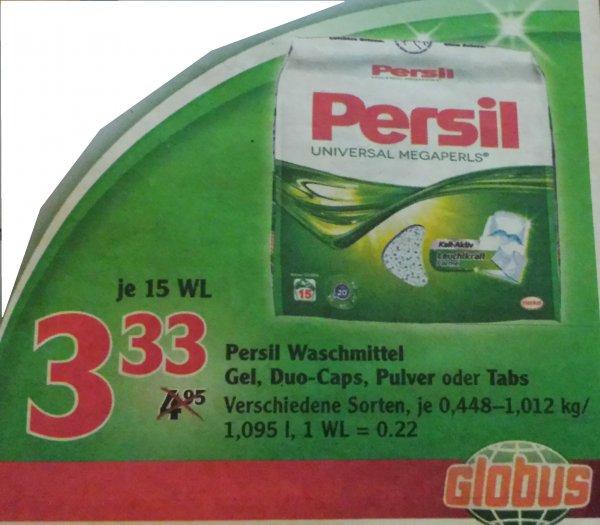 [Globus] Persil Waschmittel Gel 15 WL für 2,33€ (Angebot + Coupon)