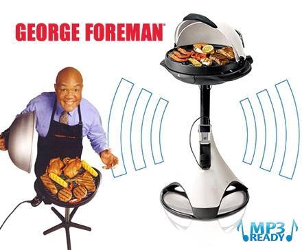 George Forman Fitness Grill`n´Sound Elektrogrill 79,99€ bei DD