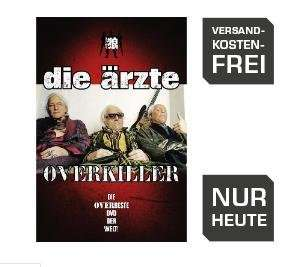 Die Ärzte - Overkiller DVD bei Saturn Online für 4,99 €