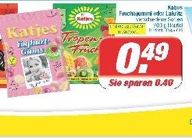 [Edeka & Marktkauf (bundesweit?)] Katjes 175-200g für 0,49€