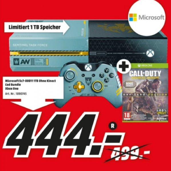 [Lokal MediaMarkt Rostock Brinkmannsdorf] Microsoft Xbox One 1TB + Call of Duty: Advanced Warfare Limited Edition