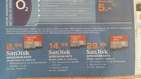 SanDisk Micro- SDHC 16 GB