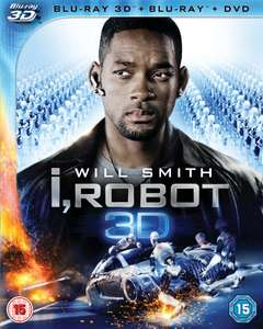 Blu-ray 3D - I,Robot (3D&2D&DVD/ 2 Discs) für €13,37 [@Wowhd.co.uk]