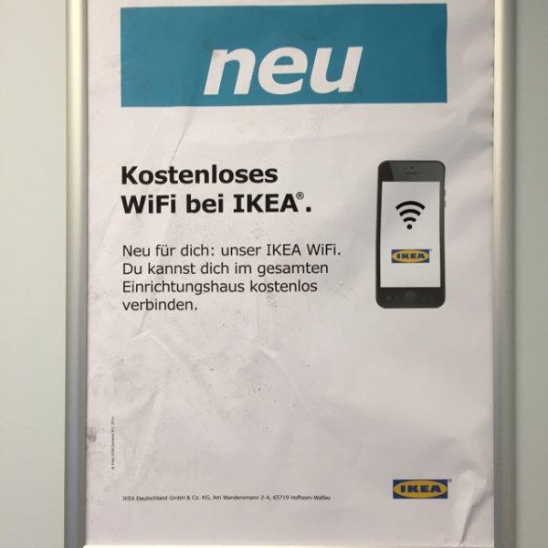 Kostenloses WiFi bei IKEA (Berlin-Spandau)