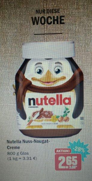 Nutella Nuss-Nougat-Creme 800g[HIT]