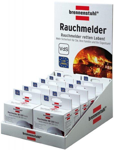 [Prime] 12 Brennenstuhl Rauchmelder BR 1201 für 20,80€ @ Amazon